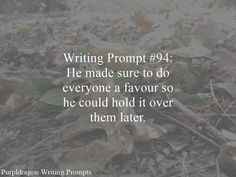 Writing Prompt 94