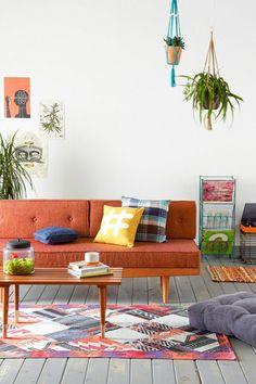 innendesign ideen modernes sofa