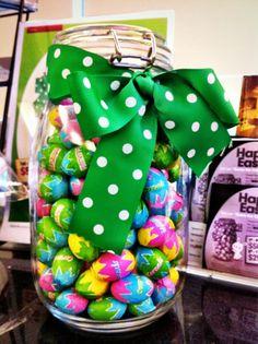 Easter Egg Jar
