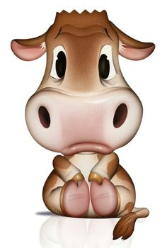 Character illustration — the bill mayer studio Cartoon Cow, Cute Cartoon, Cow Drawing, Image Deco, Saatchi & Saatchi, Cow Pictures, Baby Clip Art, Modelos 3d, Cute Cows