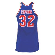 "An autographed Virginia Squires ABA road jersey, game worn in 1972-73 by Julius ""Dr. J"" Erving.    The jersey netted $190,414 in May 2011 #basketball #sports #memorabilia"
