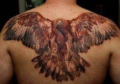 tatuaje-espalda-águila                                                                                                                                                                                 Más