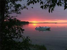 SASKATCHEWAN | Candle Lake sunset