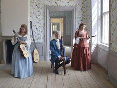 Svartsjö Palace, the widow estate of king Gustaf III's mother Lovisa Ulrika 1771-1782. For more beautiful photos like this:  http://heltbarockt.dinstudio.se/gallery_88.html
