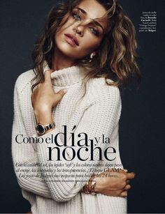 Ana Beatriz Barros por Xavi Gordo para Elle Espanha Janeiro 2015 [Fashion]