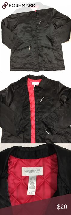 Liz Claiborne Quilted Jacket Size Small Beautiful and in perfect condition. Get it before the winter is over. Quilted and thick enough to wear in winter cold days. Liz Claiborne Jackets & Coats Puffers