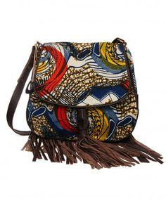 4a74e1cd9e07df Vanilla Kitenge Tassel Crossbody Bag  more at pinterest.com azizashopping   Style Afro