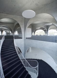 Tama Art University Library by Toyo Ito #Staircases