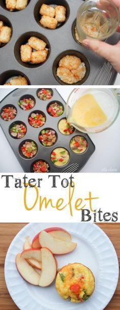#13. Tater Tot Omelet Bites -- 30 Super Fun Breakfast Ideas Worth Waking Up For