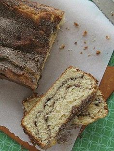 Snickerdoodle Bread - 2   tablespoons ground cinnamon   6   tablespoons sugar   2 1/2   cups Gold Medal® all-purpose flour   1 1/2   teaspoons baking powder   1/2   teaspoon salt   1/2   cup butter, softened   1 1/2   cups sugar   1/2   cup vegetable oil   3   eggs   1   teaspoon vanilla   1   cup Greek plain yogurt
