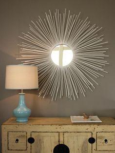 「sunburst mirror decor」の画像検索結果