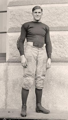 Football player ~ vintage uniform ~ Naval Academy, c.1917