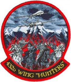 432nd Wing Hunters patch