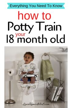 Not only is it possible, its EASY! In fact, its much easier to toilet train an 18 month old than a 3 year old! At one and half, babies are often devel Potty Training Sticker Chart, Potty Training Humor, Potty Training Rewards, Toddler Potty Training, Toilet Training, Training Tips, Training Quotes, Dog Training, Training Schedule