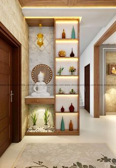 Wall Divider Entryway Decor Living Room Partition Design Pertaining To Room Interior Living Room Partition Design, Room Partition Designs, Living Room Divider, Interior Design Living Room, Living Room Decor, Partition Ideas, Wood Partition, Decor Room, Design Room