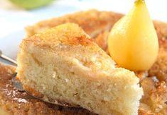 Bizcochuelo de peras con 4 ingredientes que todos tienen en su casa Coffee Bar Design, Pear Tart, British Baking, Apple Cake, Cakes And More, Baking Recipes, Pancake Recipes, I Foods, Cornbread