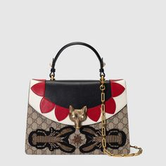 Bolso de Mano Broche GG Supreme Bolsos Gucci f4c54961842