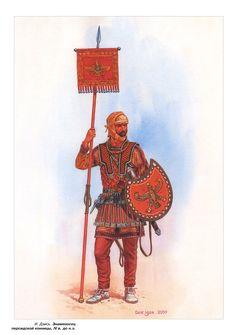 Persian soldier by Igor Dzis