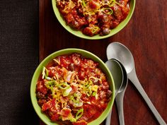 Get ready for the #BigGame with our chili recipes in today's #ComfortFoodFeast.
