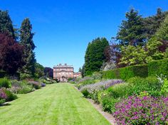 Newby Hall North Yorkshire Double herbaceous border