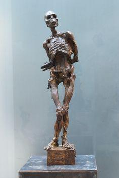 Escultura de Javier Marín en bronce. Javier Marín's bronze sculpture. Escultura contemporánea. Figura humana. Bronce a la cera perdida. Contemporary sculpture.Human form. Lost wax bronze.