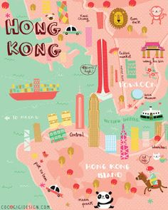 I'm sure many of you have heard of the Make Art That Sells (MATS) e-course taught by Lilla Rogers. After seeing so many beautiful designs b. Macau Travel, China Travel, Travel Maps, Italy Travel, Las Vegas Hotels, Hong Kong Nightlife, Nightlife Travel, Sedona Arizona, French Quarter
