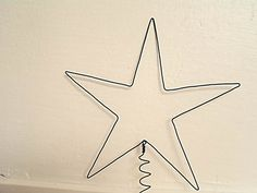christmas Tree Topper wire star