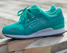 Ronnie Fieg Asics Gel Lyte III in MINT (Seafoam!)