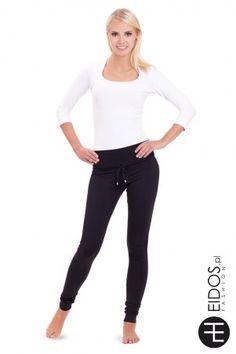 Modne i wygodne #czarne #legginsy idealne na jesień