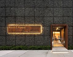 """Check out this @Behance project: """"Food & Forest park restaurant"""" https://www.behance.net/gallery/22082207/Food-Forest-park-restaurant"""