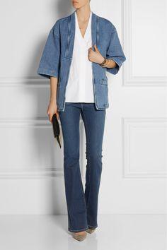 MiH Jeans|Denim kimono jacket |NET-A-PORTER.COM