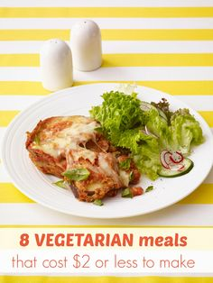 A little prep work in the morning yields a delectable meatless dish of Slow-Cooker Eggplant Parmesan for dinner. Tostada Recipes, Veggie Recipes, Healthy Recipes, Healthy Dinners, Veggie Meals, Recipes Dinner, Meatless Recipes, Cheap Recipes, Fast Recipes