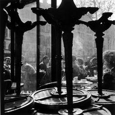 Café de Flore,Paris 1949,Christer Stromholm ♔