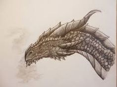 Image result for drawing of smaug the dragon hobbit