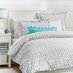 Girls Dorm Duvet Covers & Dorm Room Bedding for Girls Dorm Room Bedding, Teen Bedding, Bedding Sets, Teen Bed Comforters, Bedspreads For Teen Girls, Preppy Bedding, Bedroom Colors, Bedroom Decor, Bedroom Ideas