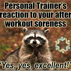 CrossFit coach reaction to your post workout soreness #lol #workout