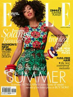 Solange - Fashion's It Girl, Elle South Africa, November 2012