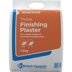 Ideal for smaller repairs. Use over plaster or plasterboard. Dries to a smooth finish for decoration. Covers 3m².