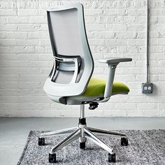 Portone is fully adjustable, including a beautifully integrated lumbar support adjustment. Office Furniture, Furniture Design, Work Chair, Chair Backs, Japan, Mood, Interior Design, Home Decor, Hon Office Furniture