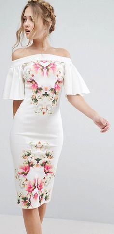 Robe invitée mariage - nos coups de cœur pour la saison printemps-été 2018 #Robeinvitéemariage #robes