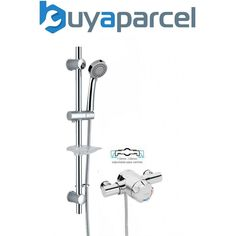 vidaXL Kit Robinet de Douche Chrome Salle de Bain Toilette Mitigeur Douchette