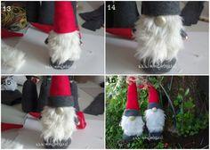 how to make a gnome in pannolenci Scandinavian Gnomes, Scandinavian Christmas Decorations, Nordic Christmas, Christmas Gnome, Primitive Christmas, Diy Christmas Gifts, Christmas Ornaments, Christmas Bingo Cards, Santa Claus Images