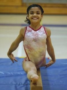Olympian Laurie Hernandez in 2011: I want to be famous | This is so inspirational for young gymnasts! #gymnastics #gymnast