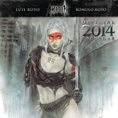 Malefic - Calendrier 2014 - Luis & Romulo Royo