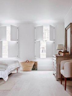 Modernia, minimalistista ja väriä