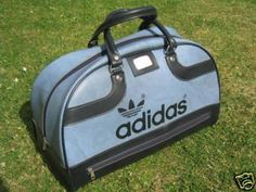 vinyl adidas bag
