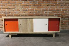 1000 images about meuble tv on pinterest tvs tv stands and wall mounted tv - Meuble tv vintage scandinave ...