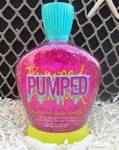 Pump up the volume of your dark tanning results with Designer Skin Pumped Tanning Lotion. This amplified intensfier will leave you with intense color without the use of cosmetic bronzers or DHA.