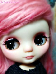 OOAK Middie Blythe Hand Painted Eyechips by MyDeliciousBliss, $20.50