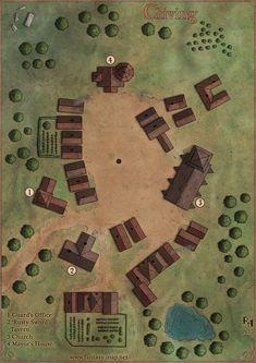 Cliving Village, Robert Altbauer on ArtStation at https://www.artstation.com/artwork/kNQ8x